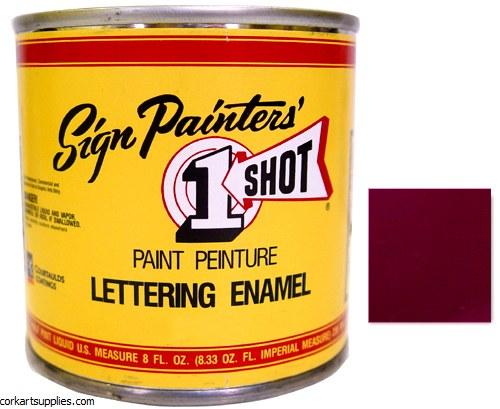 1 Shot Enamel Purple