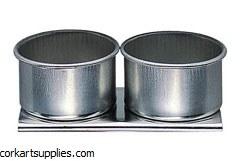 Dippers Double Aluminium