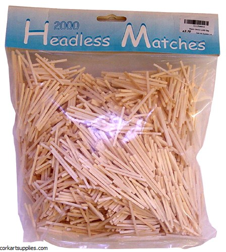 Match Sticks 2,000 Bag