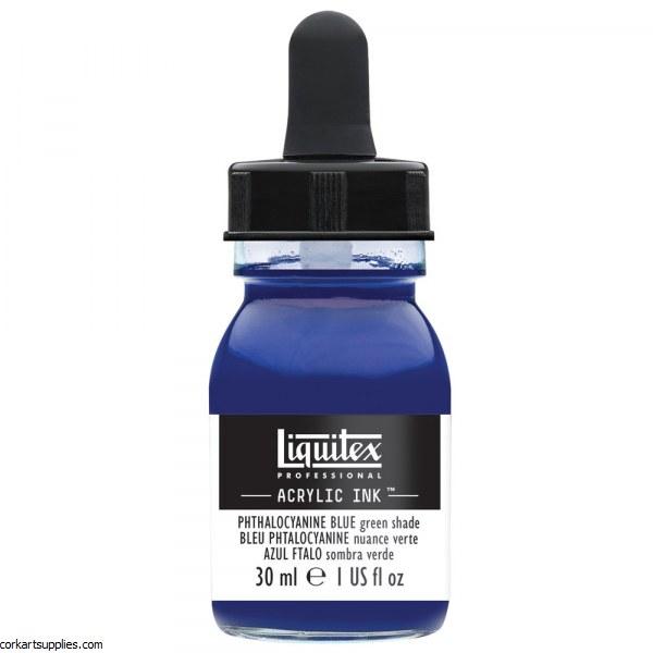 Liquitex Ink 30ml Phthalo BLUE Green Sh