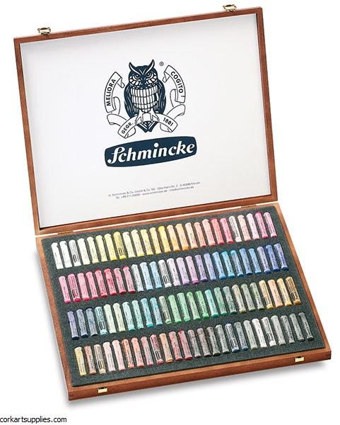 Schmincke Pastel Wooden 100pk^