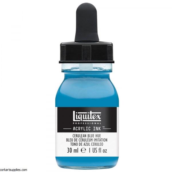 Liquitex Ink 30ml Cerulean Blue Hue