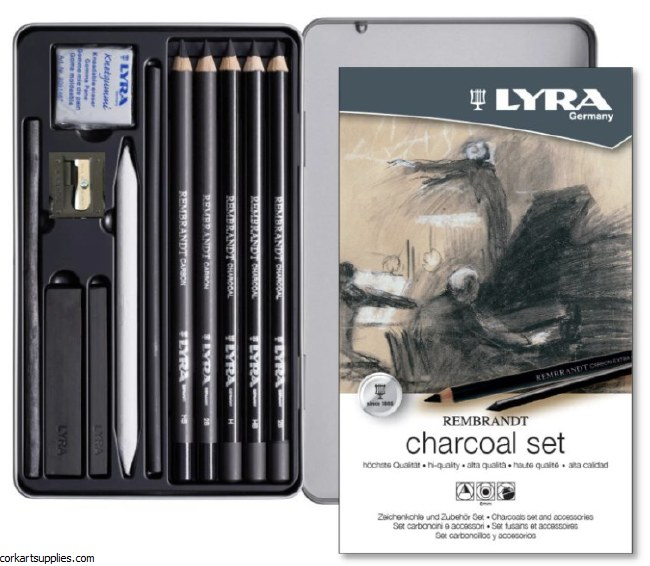 Lyra Charcoal Set 12pk