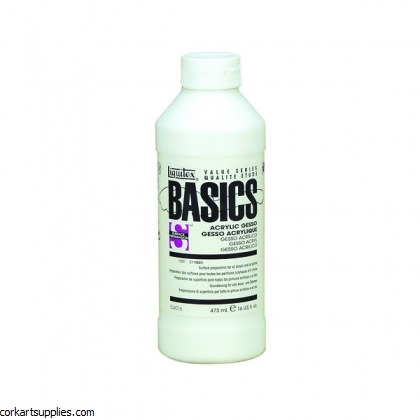 Liquitex Gesso Basics 473ml
