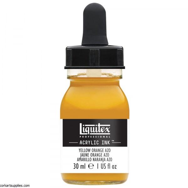 Liquitex Ink 30ml Yellow Orange Azo