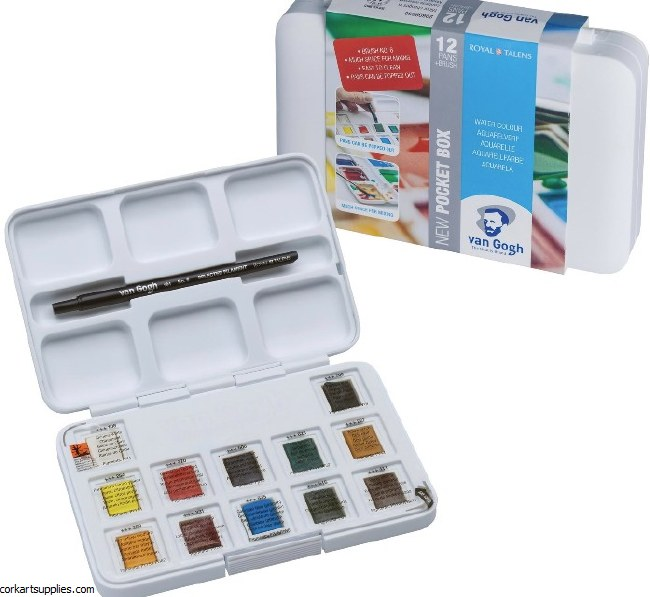 Van Gogh Pocket Pan Box 12pk
