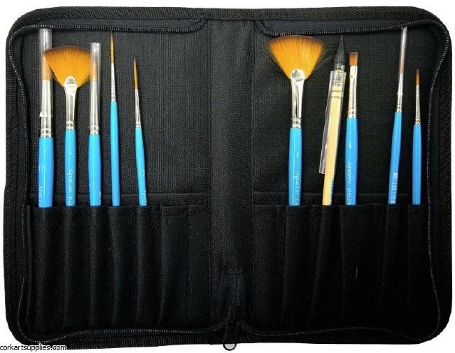 Aquafine Brush Case 10pk^