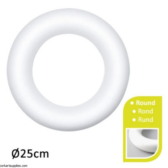 Polystyrene Ring Large 250mm^