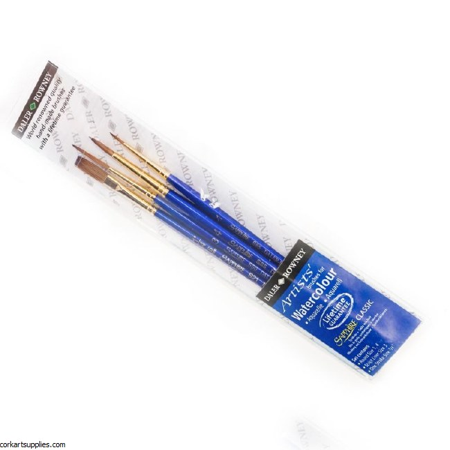 Sapphire Classic Brush 4pk