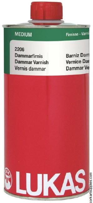 Lukas Dammar Varnish 1L 2206