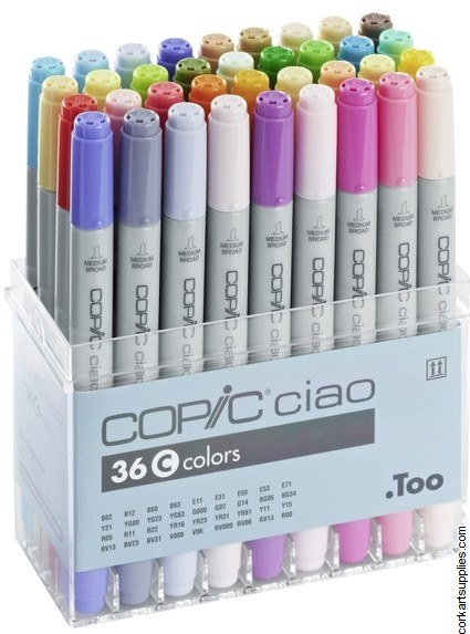 Copic Ciao 36pk Set C^