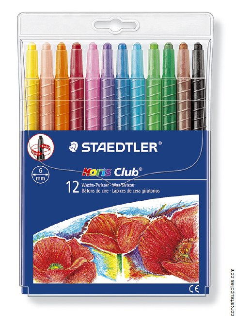 Crayons Twist-Up 12pk