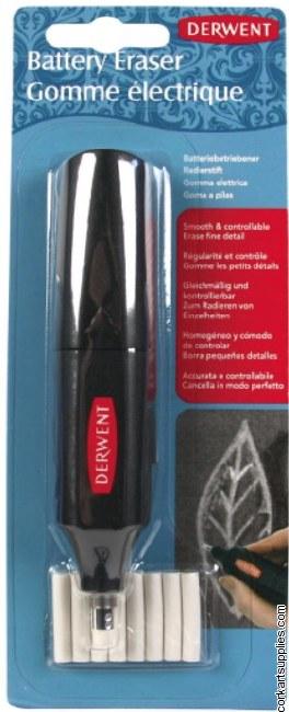 Derwent Battery Eraser w/9 refills