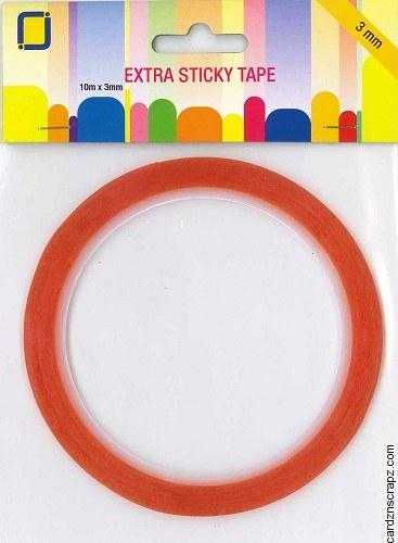Tape Extra Sticky 3mmx10m