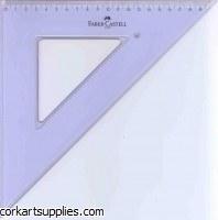 Set Square 45°/20cm