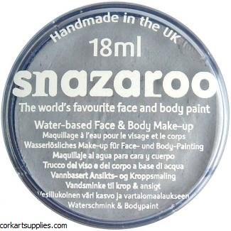 Snazaroo 18ml Light Grey