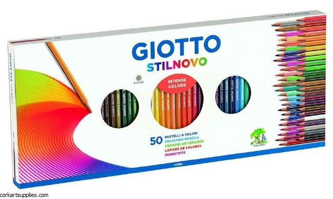Giotto Coloured Pencil 50pk