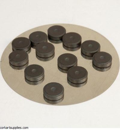 Magnets Round Ø12mm x 2mm x 12pk