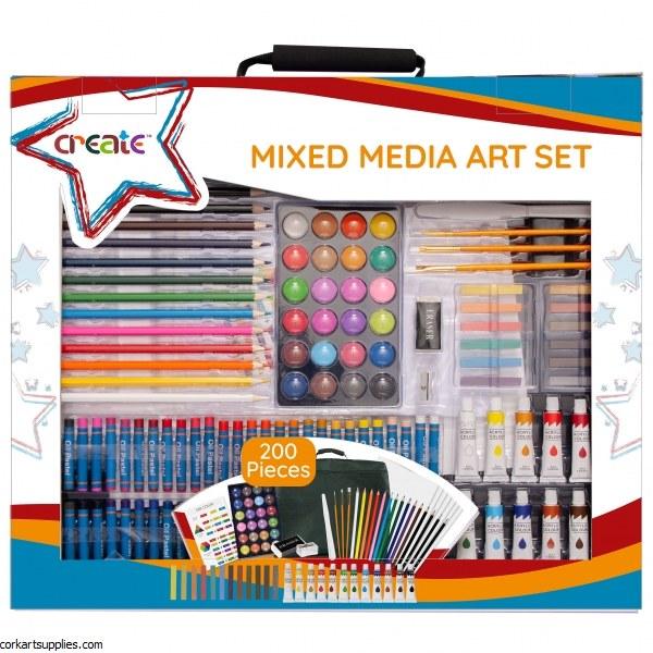 Create Mixed Media Art Set