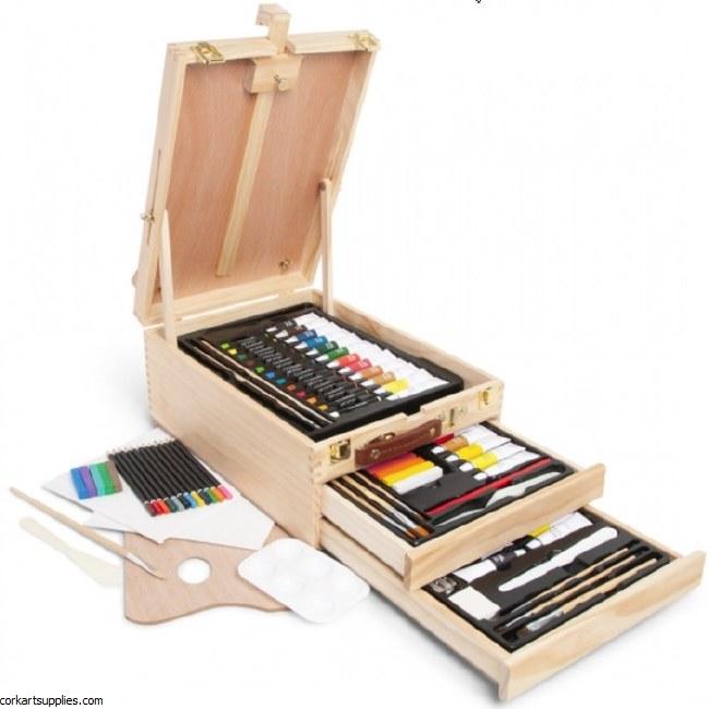 Elements Media Box Easel 108pk