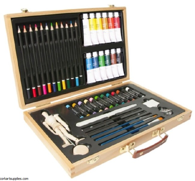 Elements Media Box Wooden 46pk