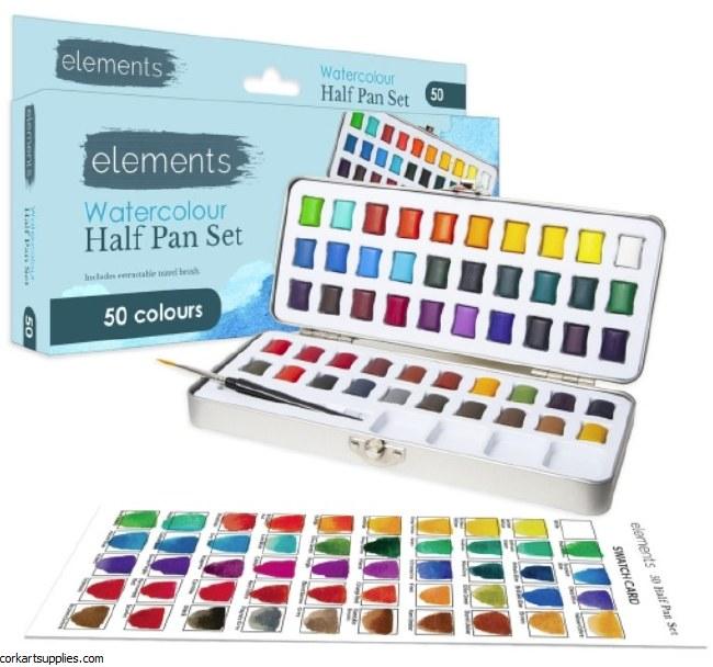 Elements 50 Half Pan Box