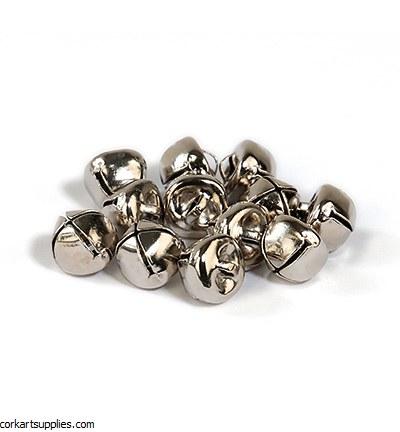 Bells 12mm 10pk Silver