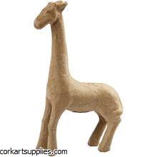 Papier Mache Giraffe 29cm