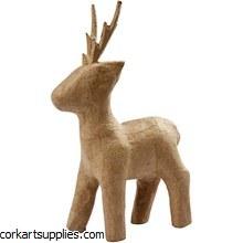 Papier Mache Christmas Deer^