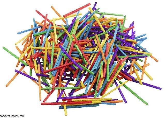 Match Sticks Asst 4300pk Bulk
