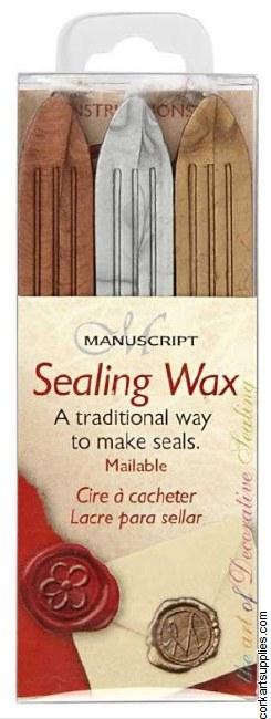 Sealing Wax 3 Pack Gold, Silver & Bronze