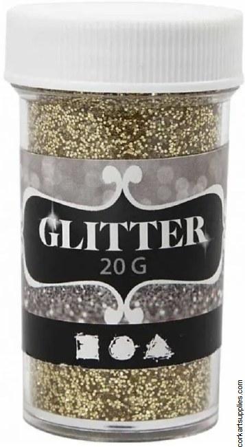 Glitter Ex.Fine 20g Gold