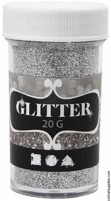 Glitter Ex.Fine 20g Silver