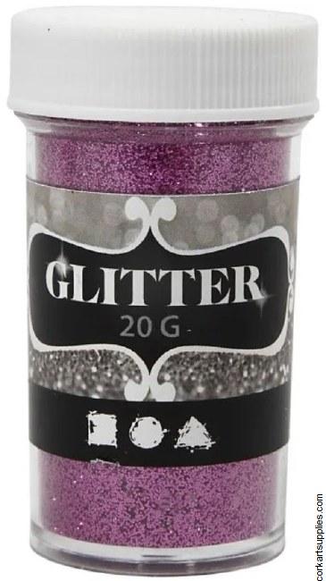 Glitter Ex.Fine 20g Pink