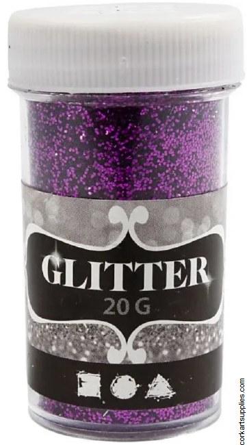 Glitter Ex.Fine 20g Purple