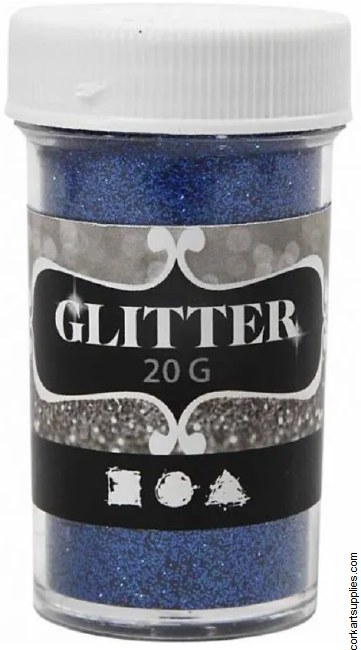 Glitter Ex.Fine 20g Blue