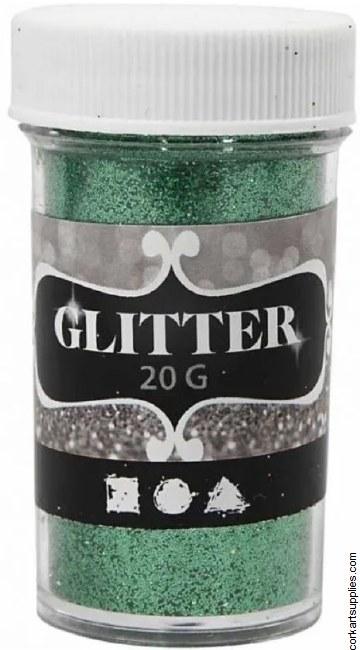 Glitter Ex.Fine 20g Green