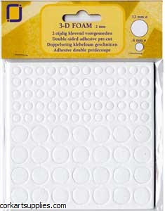 Foam Dots 12mm & 6mm 88pk