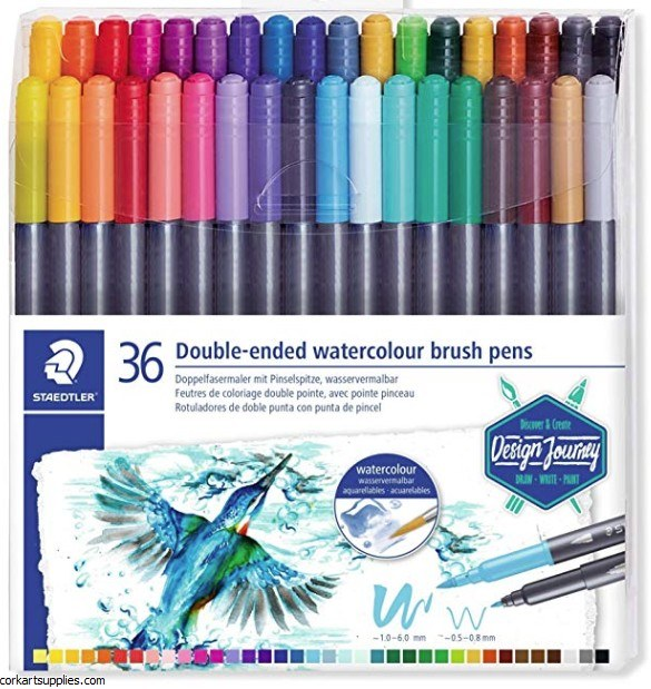 Staedtler Brush Marker 36pk