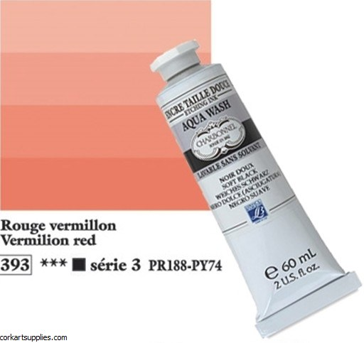 Aqua Wash Ink 60ml Vermilion