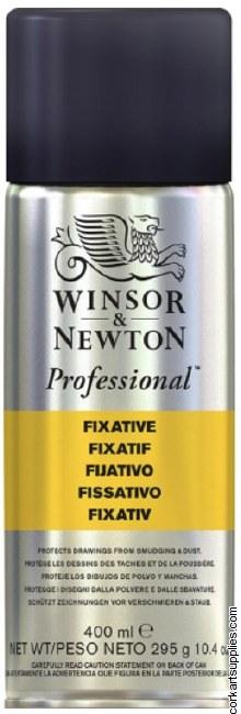 Winsor & Newton Aerosol 400ml Fixative
