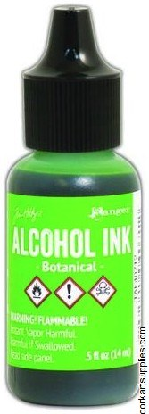 Alcohol Ink 14ml Botanical Grn