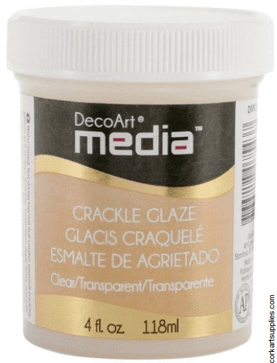 DecoArt Clear Crackle Glaze Clear