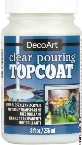 DecoArt Pouring 236ml TopCoat