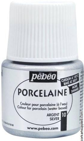 Porcelaine 150 45ml Shimmer Silver