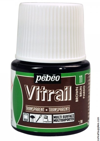 Vitrail 45ml Transparent 11 Brown