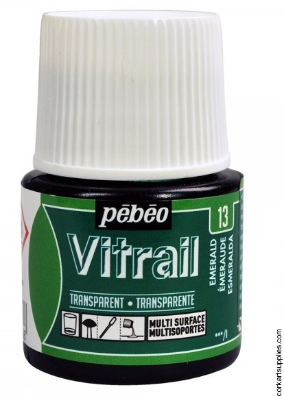 Vitrail 45ml Transparent 13 Green Emerald