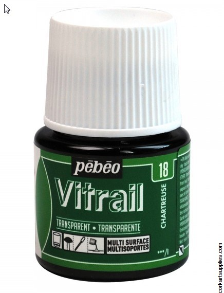 Vitrail 45ml Transparent 18 Green Chart