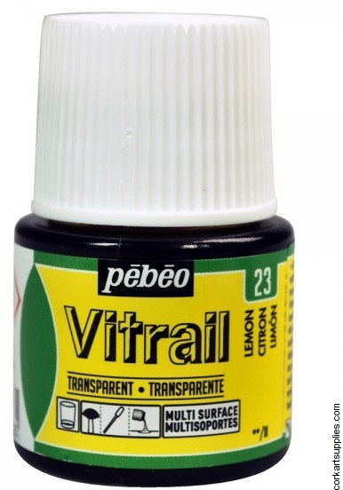 Vitrail 45ml Transparent 23 Lemon