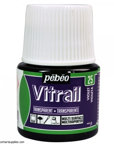 Vitrail 45ml Transparent 25 Violet